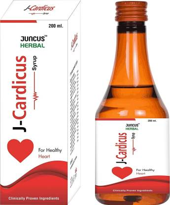 Juncus Cardicus Herbal Syrup for Heart Health – Natural Heart care Herbal Tonic for Heart Detox and Purifier, Helps lower Cholesterol, Blood Pressure and Triglycerides