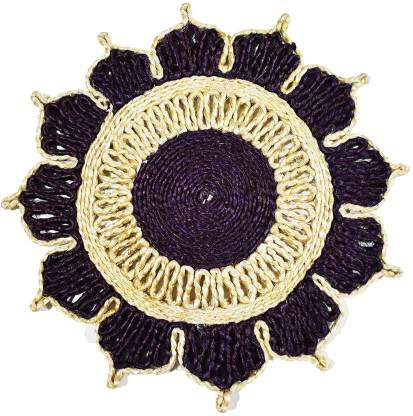 Bengal Handicrafts & Handlooms Round Pack of 2 Table Placemat