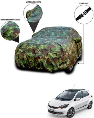 ANTHUB Car Cover For Tata Tiago (With Mirror Pockets)