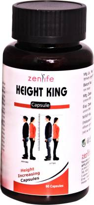 Afflatus Herbal Height King 60 Capsules | Height & Body Growth Supplement