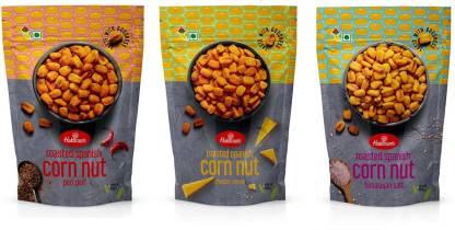 Haldiram's Baked Spanish Corns Pack of 3 Acorns