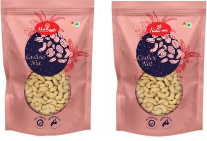 Haldiram's Premium Cashew 400 g X Pack of 2 ( W 320 ) Cashews