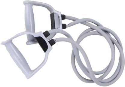 Inchdown Double String Toning Tube High Resistance Tube Exerciser Resistance Tube
