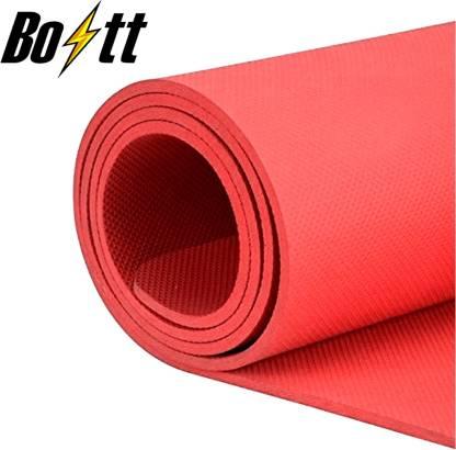 boltt Best affordable Yoga Mat For Workout Blue 10MM mm Yoga Mat