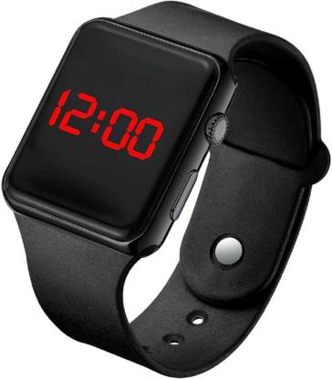 SCORIA iT500 Digital Black LED Watch For Kids and Boys iT500 Square Analog Watch - For Girls