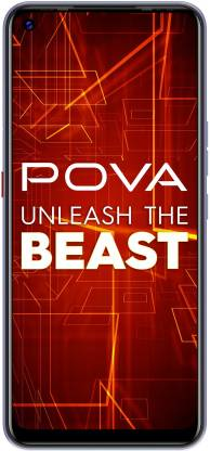 Tecno POVA (Speed Purple, 128 GB)(6 GB RAM)