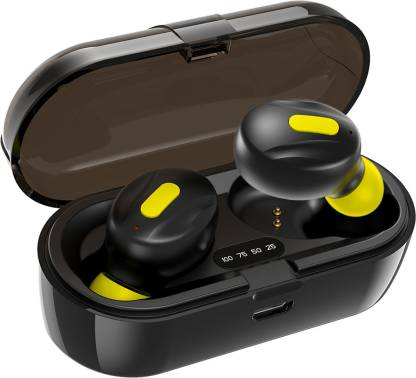 WeCool Moonwalk Mini in Ear True Wireless Bluetooth Earbuds with mic Bluetooth Headset  (Black, True Wireless)