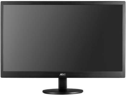 AOC 18.5 inch HD LED Backlit TN Panel Monitor (E970SWN5)
