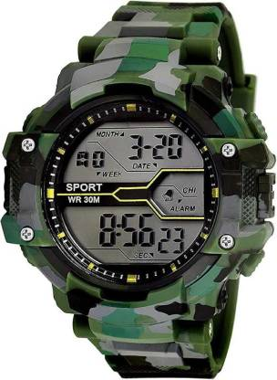 Squirro Ben 10 Watch for Kids Boys and Girls (Ben Ten Green Colored Strap) [3-7 Years]