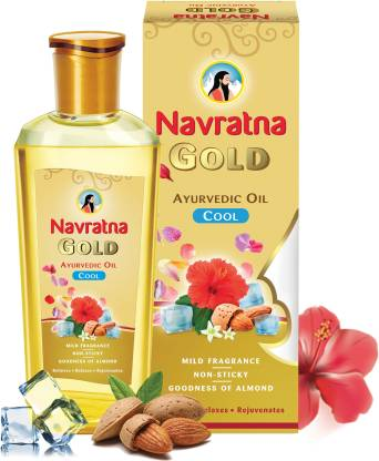 Navratna Gold Ayurvedic Oil Hair Oil