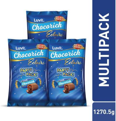 LuvIt Eclairs Party Pack Choco Toffee