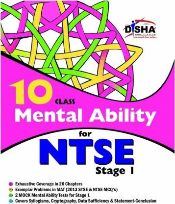 Mental Ability for Ntse for Class 10 (Quick Start for Grade 7, 8, & 9)