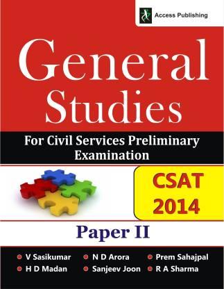 General Studies: Paper II - General Studies for Civil Services Preliminary Examination Paper II