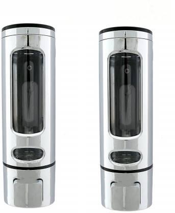 Prestige PSD-001-PO-2 450 ml Shampoo Dispenser(Silver)