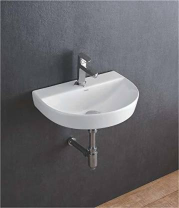 Bassino Wall Hung Ceramic Wash Basin Glossy Finish Wall Mounted Bathroom Sink Super White Color Christ Wall Hung Basin Price In India Buy Bassino Wall Hung Ceramic Wash Basin Glossy Finish Wall Mounted Bathroom Sink Super White