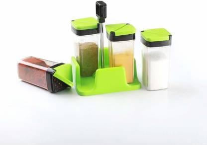 4 SACRED WOMENS 1st choice premium sprinkle dining set(green) 1 Piece Salt & Pepper Set