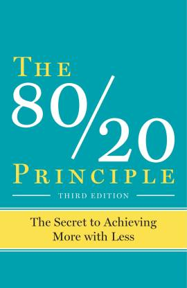 The 80/20 Principle The Secret To Achieving More With Less Generic Paperback With SpaceHaven Bookmark