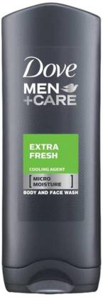 DOVE Men+Care Body & Face Wash, Extra Fresh - 250ml