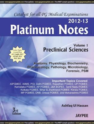 Platinum Notes: Volume - 1