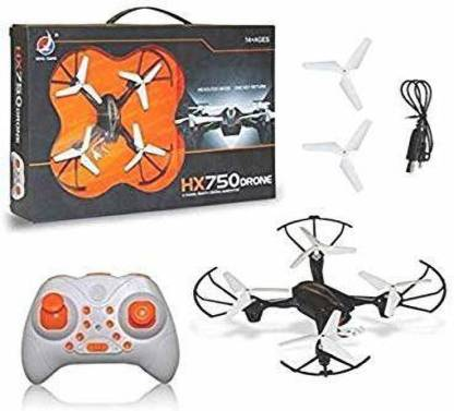 Akshat HX750 Drone Remote Control Quadcopter Without Camera for Kids Drone