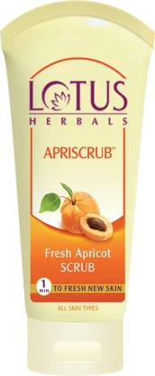 LOTUS HERBALS Herbals Fresh Apricot  Scrub