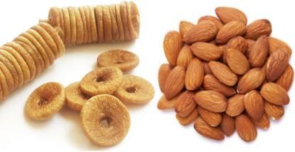 Sky Afgani Dried Figs And California Almonds Figs, Almonds