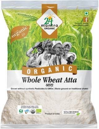 24 mantra ORGANIC Whole Wheat Atta