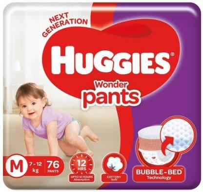 Huggies Wonder Pants, Medium Size Diapers, 76 Count - M