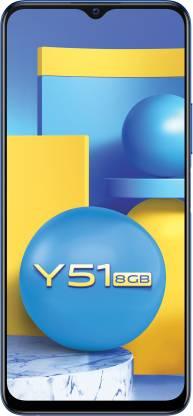 vivo Y51 (Titanium Sapphire, 128 GB)
