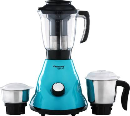 Butterfly MIXER GRINDER WAVE PLUS - 550 W 550 Mixer Grinder (3 Jars, Turquise - Green)