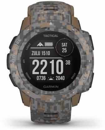 GARMIN Garmin Instinct Tactical Camo Coyote Tan Smartwatch
