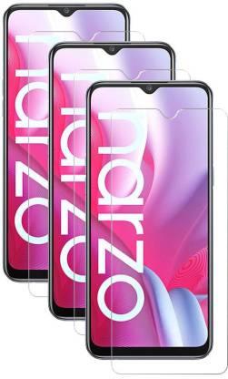 Fovtyline Tempered Glass Guard for Realme Narzo 20, Realme Narzo 20A