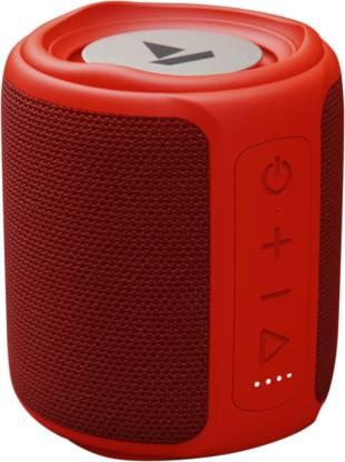 boAt Stone 350 10 W Bluetooth Speaker(Red, Silver, Mono Channel)