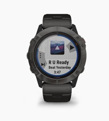 GARMIN Fenix 6X Solar Titanium Smartwatch