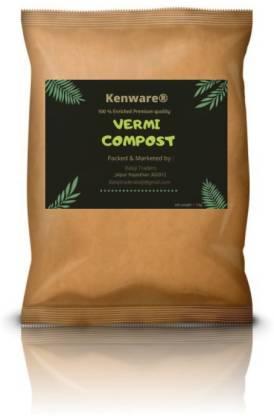 Kenware Premium Quality Organic Vermi compost Fertilizer Manure for Plants Fertilizer(2 kg, Powder)