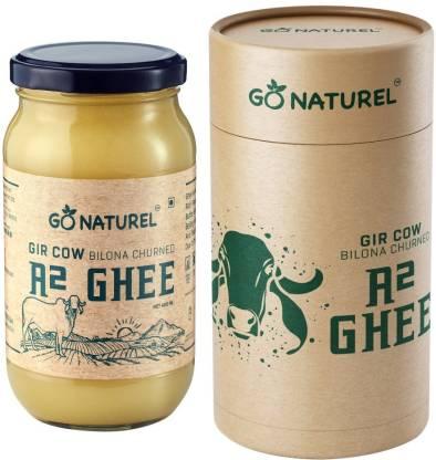 Go Naturel Gir Cow Ghee Ghee 400 ml Glass Bottle