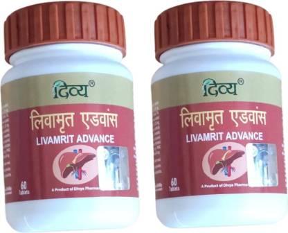 DIVYA PHARMACY Livamrit Advance - (Pack of 2)