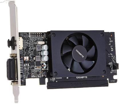 GIGABYTE NVIDIA GV-N1030D4-2GL GeForce GT 1030 Low Profile D4 2G Computer Graphics Card 2 GB GDDR5 Graphics Card