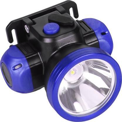 24 ENERGY Long Range 50 Watt Laser LED Headlamp With Charging Torch
