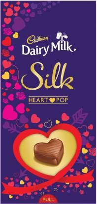 Cadbury Dairy Milk Silk Heart Pop Bars  (250 g)