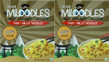 Grami Superfoods Ragi Millet Instant Noodles Vegetarian