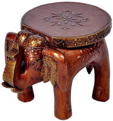 Sunshine Arts And Crafts Wooden Elephant Stool Copper Home Decorative Items In Living Room Bedroom 6 Decorative Showpiece 6 Cm Price In India Buy Sunshine Arts And Crafts Wooden Elephant