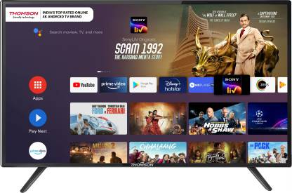 Thomson 9R Series 139 cm (55 inch) Ultra HD (4K) LED Smart Android TV