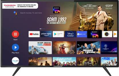 Thomson 9R Series 108 cm (43 inch) Ultra HD (4K) LED Smart Android TV