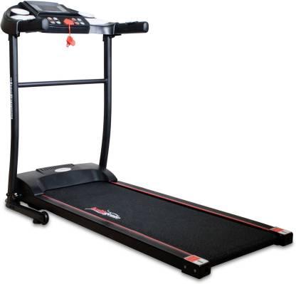 Healthgenie 3911M 1.0HP (2.5 HP at Peak) Motorized Treadmill for Home Use, Max Speed 10 Kmph Treadmill
