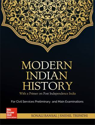 Modern Indian History -First Edition