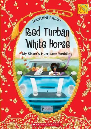 Red Turban White Horse