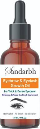 Sandarbh Eyebrow & Eyelashes Growth Oil-Enriched with Natural 30 ml