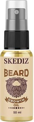 SKEDIZ 100% Natural Beard Growth Oil 50 ml Beard And  Hair Oil