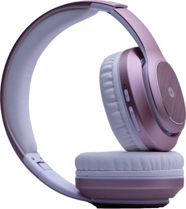 Melomane Opera On-Ear Wireless Headphone with Power-Packed Ergonomic Design Soft Earcups Audio System and a playback time of up to 24 Hours Bluetooth Headset